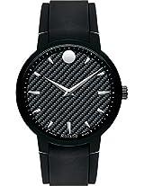Movado Gravity Analogue Black Dial Men's Watch - 606849