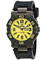 REACTOR Men's 44007 MX Yellow Dial Watch (Amazon Exclusive)