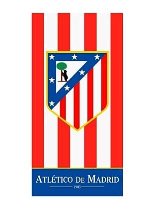 Secaneta Toallas de Playa Rayas Atlético de Madrid (Rojo)