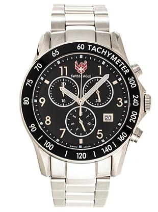 Swiss Eagle Reloj Field Talon negro