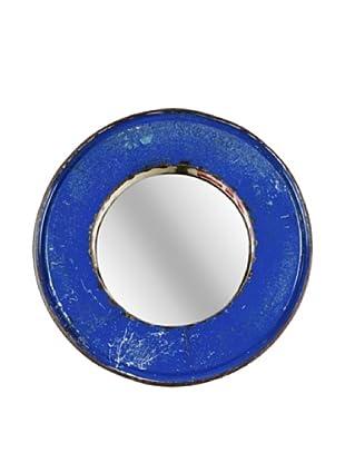 Foreign Affairs Kacat Mirror, Blue/Cream