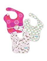Bumkins SuperBib (Girl) 3-pack