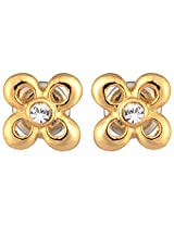 Estelle Gold Plated Studs for Women (ESER352-728)