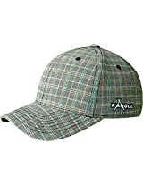 Kangol Men's Plaid Flexfit Baseball, Nano Check, Large/X-Large