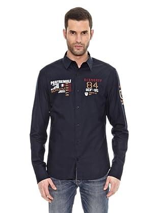 Bendorff Camisa Manga Larga (Azul Marino)