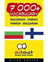 7000+ Bulgarian - Finnish Finnish - Bulgarian Vocabulary (ChitChat WorldWide) (Afrikaans Edition)