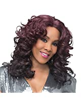 Vivica A. Fox SERENITY New Futura Fiber, Natural Baby Hair Lace Front Wig in Color 1