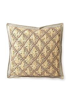 """Mar Y Sol Praia 20"""" Square Pillow (Dove)"""