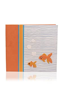 Molly West Fishy Scrapbook, Orange