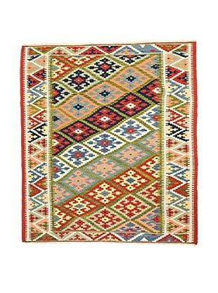 RugSense Alfombra Persian Kashkai Verde/Rojo/Multicolor 178 x 123 cm