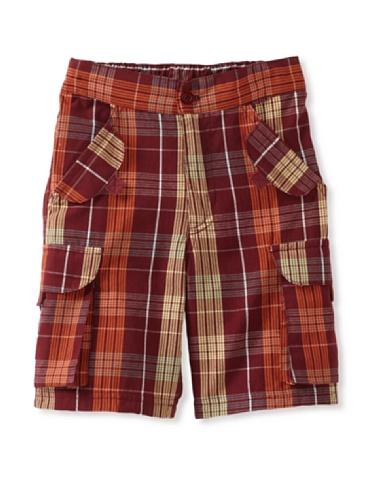 Da Lil Guys Baby Plaid Shorts (Travel Plaid)