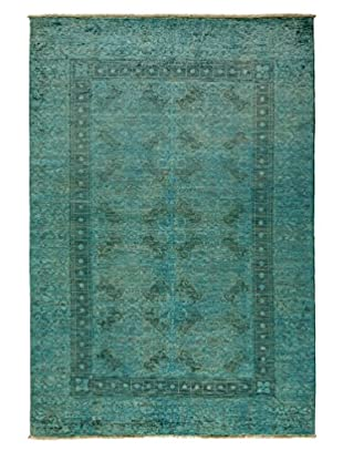 Solo Rugs Ziegler One-of-a-Kind Rug, Light Blue, 6' 1