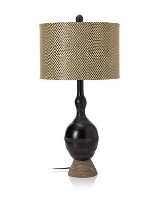 Pacific Coast Lighting Ebony Vessel Table Lamp