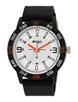 Maxima Ego Analog White Dial Men's Watch - E-35283PPGN
