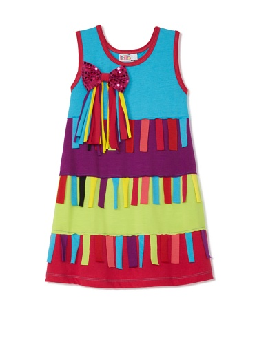 Lilo Girl's Flecos Chic Dress (Blue)