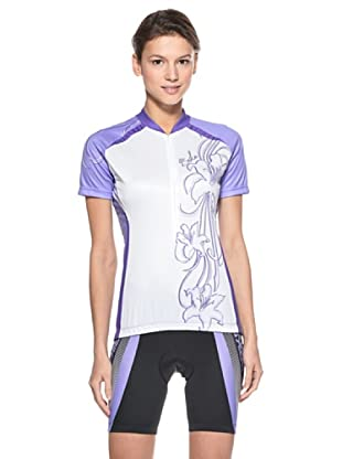 Briko Sparkling Funktionsshirt (weiß  violett)