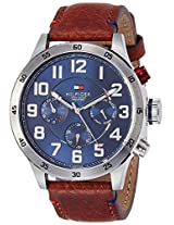 Tommy Hilfiger Chronograph Blue Dial Men's Watch - TH1791066J