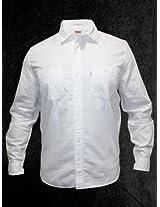 Levis Men White Casual Shirt
