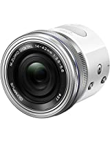 Olympus Air A01 Mirrorless Micro Four Thirds Lens-Style Digital Camera with 14-42mm EZ Lens (White)