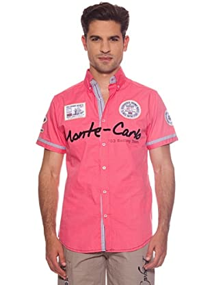 Geographical Norway Camisa Zebrasquare (Rosa)