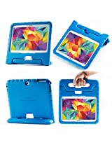 i-Blason Samsung Galaxy Tab 4 10.1 Case - ArmorBox Kido Series Light Weight Super Protection Convertible Stand Cover Case (Galaxy Tab 4 10.1, Blue)