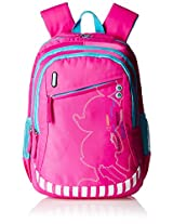 Genius Disney Polyester 48.5 cms Pink Softsided Children's Backpack (SHADOW 19 PINK)