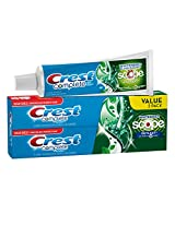 Crest Complete Extra White Plus Scope Outlast Fresh Breath Whitening Toothpaste - Long Lasting Mint Twin Pack 11.6-Ounce