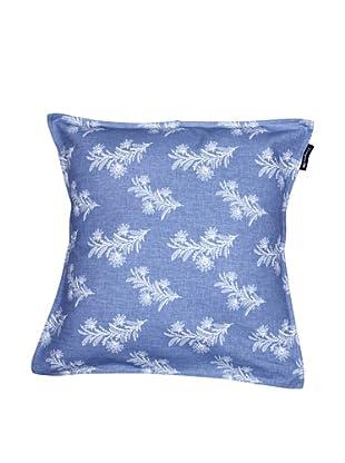 Lexington Company Funda de Cojín Floral (Azul / Blanco)