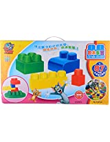 Docaly Unisex Kids' Tom & Jerry Block Set (Multi-Colour)