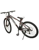 Cosmic Trium Men's 21 Speed Gear Bicycle (27.5 inch, Black)