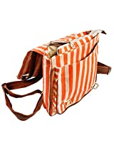 Backpack-Orange Stripes
