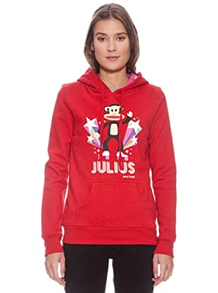 Paul & Frank Sudadera Julius Fleece (Rojo)