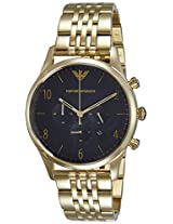 Emporio Armani Analog Black Dial Men's Watch - AR1893