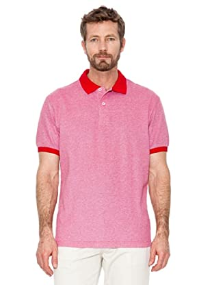 Cortefiel Polo Oxford (Rot)