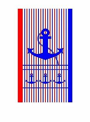 Euro Home Strandhandtuch Anker (mehrfarbig)