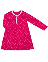 Girls NightGown | Fuchsia, 6X