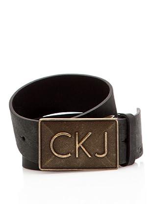 Calvin Klein Jeans Cinturón CW22CI (Negro)