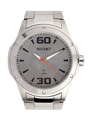 Rochet W405013 - Reloj de Caballero movimiento de cuarzo con brazalete metálico Metálico