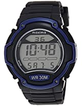 Maxima Digital Black Dial Men's Watch - 28750PPDN