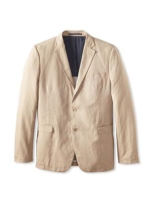 Sand Men's Garment-Dyed Sport Coat (Tan)