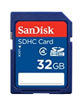 Sandisk SDHC 32GB Class 4 Memory Card