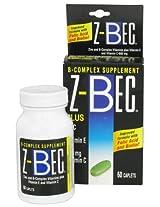INVERNESS MEDICAL INC. Z - Bec Tablets Plus Zinc Complete B-complex Supplement Tablets - 60 Tablets