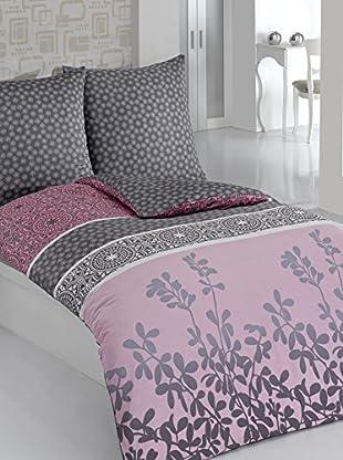 Cotton Box Bettwäscheset Satin Mahidevran Pink (mehrfarbig)