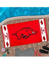 "NCAA Arkansas Razorbacks 30"" x 60"" Logo Beach Towel - Cardinal"