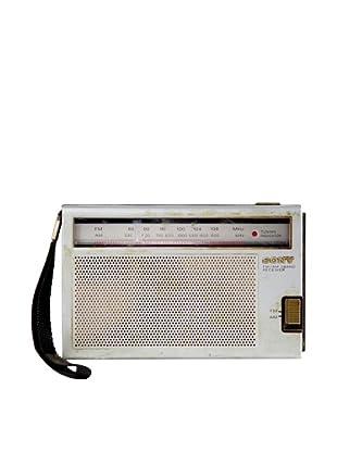 Vintage Sony Radio, Silver