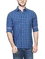 Allen Solly Men Slim Fit Shirt_AMSF514G02940_38_Blue