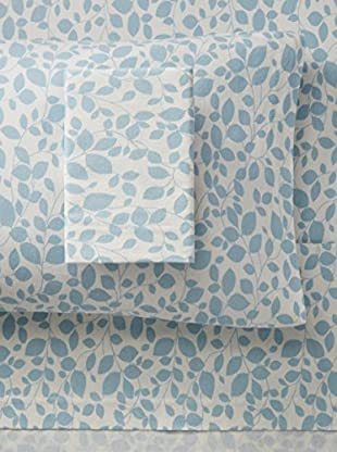 Laura Ashley Leaves Flannel Sheet Set