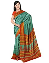 Kothari Saree (KT090 _Orange Green)