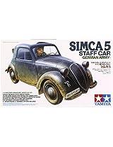 Tamiya Models Simca 5 Staff Car