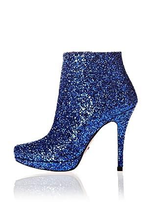 Buffalo London Botines Glitter (Azul)